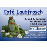 Café Laubfrosch – schwule Senioren im MHC